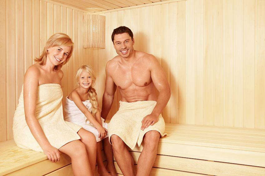 В баню всей семьей фото