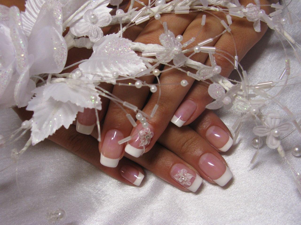 Маникюр для невесты в фото