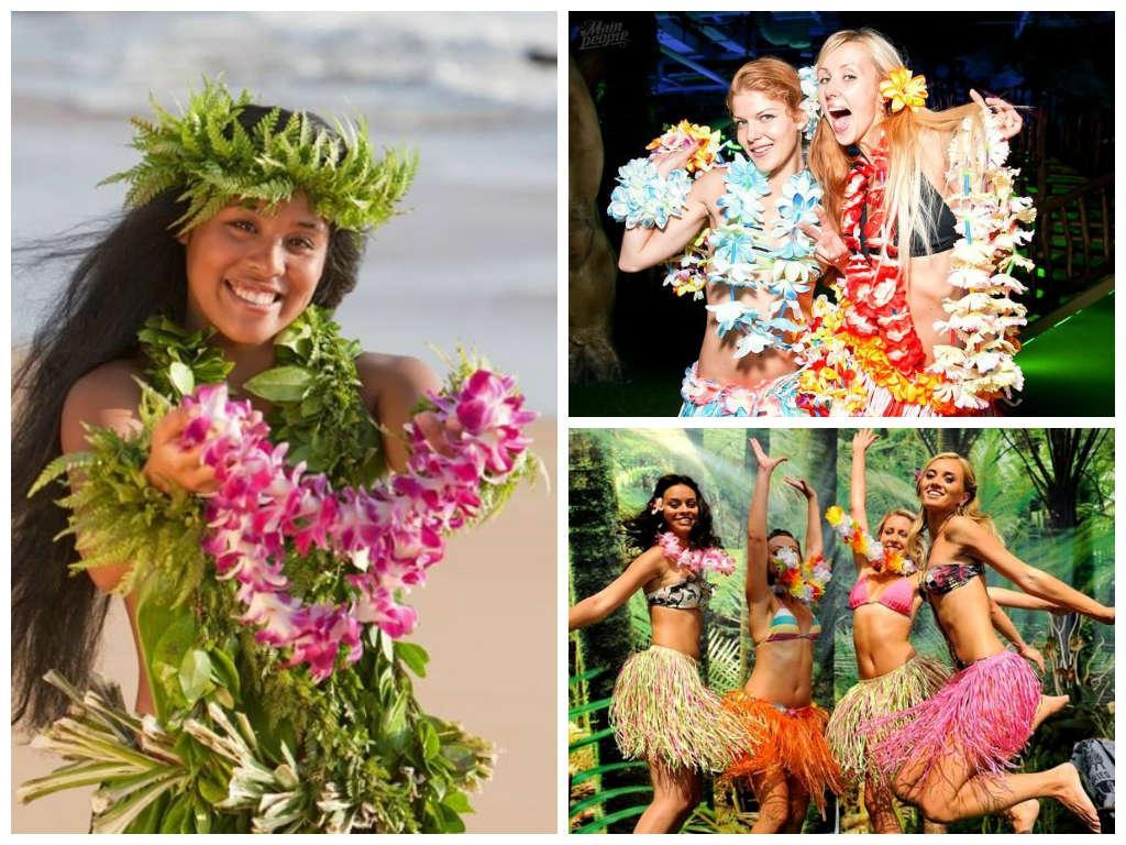 Поздравления в стиле гавайской вечеринки 47