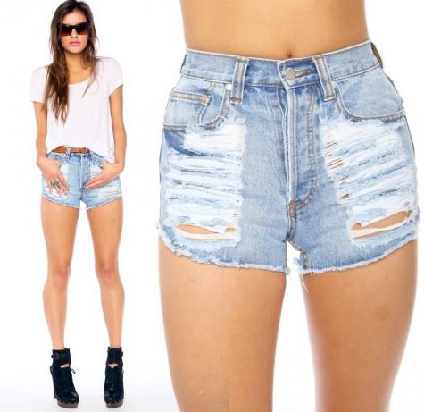 Фото стройных девушек мини рваных шортиках в полный рост трахающиеся моделей