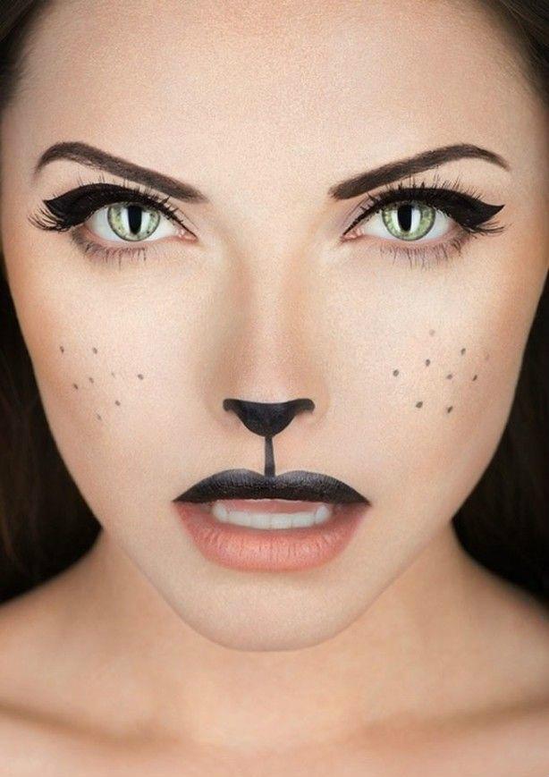 фото макияж кошки