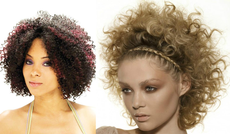 Как можно сделать волосы кудрявыми фото