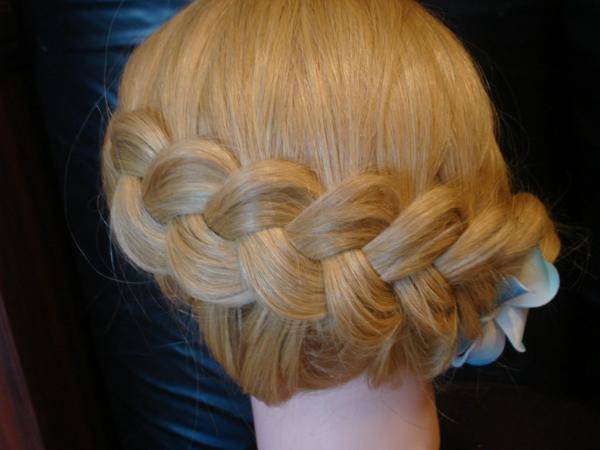 Заплести красивую причёску в школу