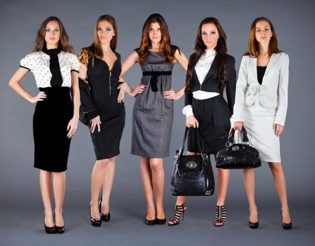 Стиль одежды в офисе для женщин