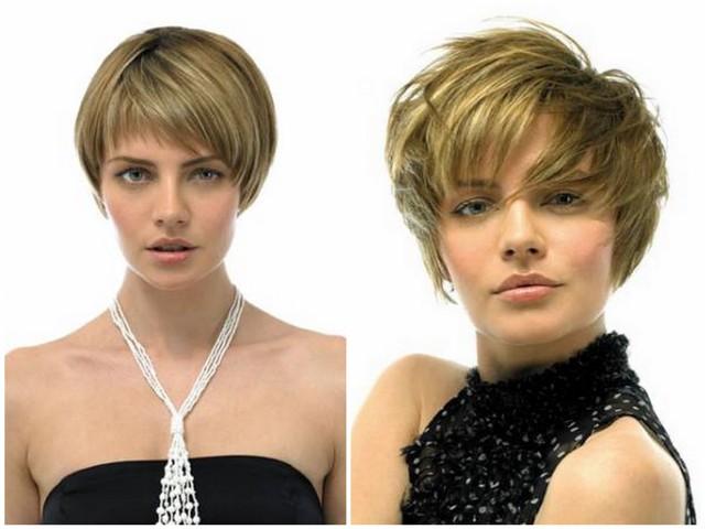 Причёска гарсон на средние волосы