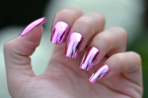 Как сделать ногти стальными