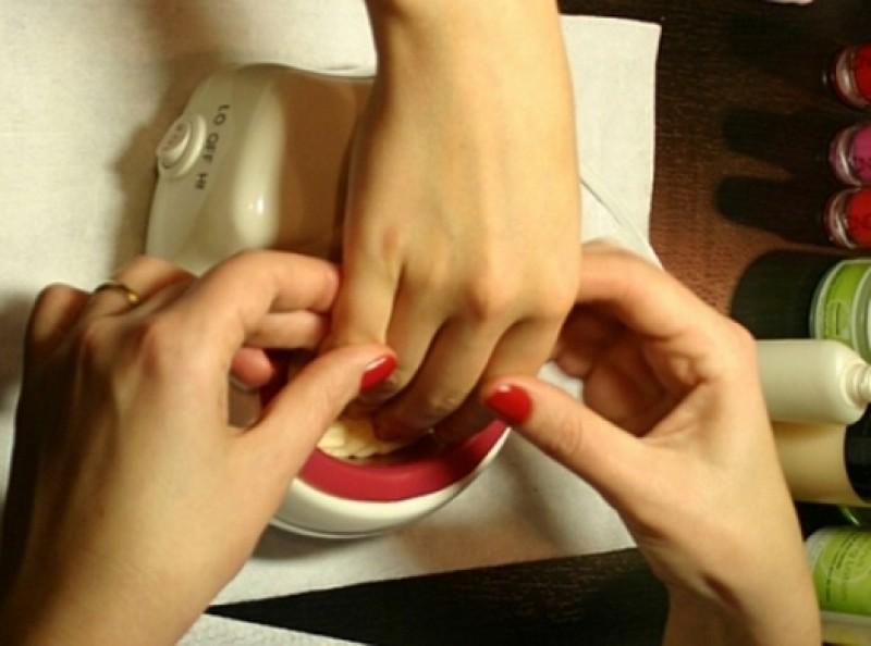 Деформация ногтей чем исправить
