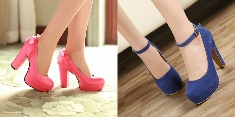 Также любимы многими девушками авангардные туфли, где каблук является главным акцентом. . Он может иметь самые