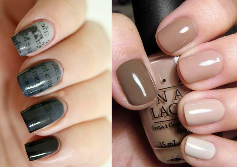 С каким цветом сочетается серый цвет на ногтях