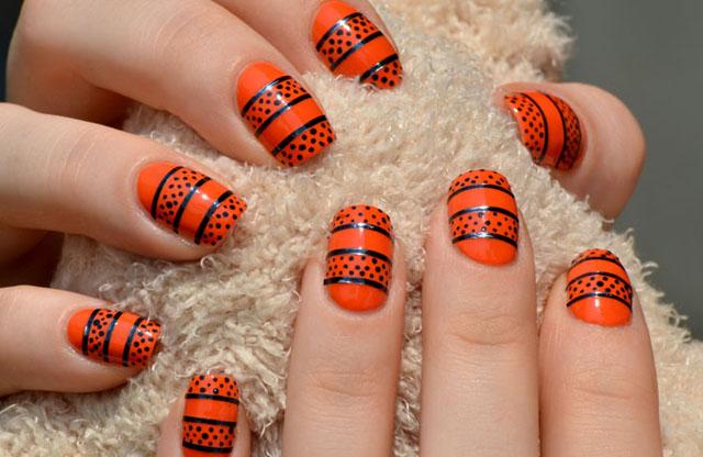 Модные рисунки и дизайн ногтей