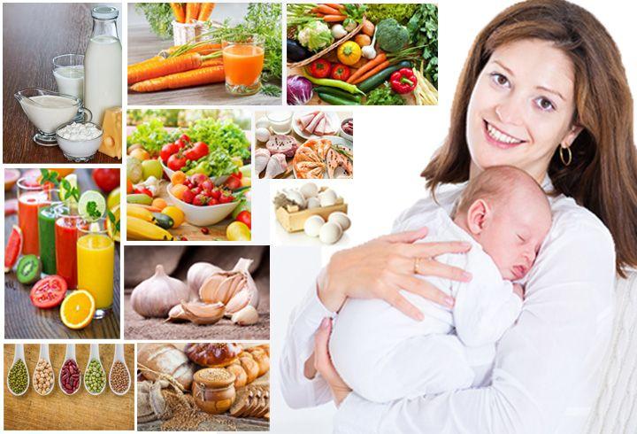 Какие продукты нежелательно употреблять кормящим матерям