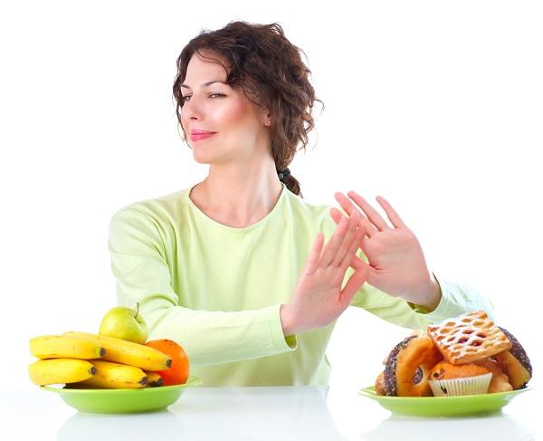 Диета для похудения примеры