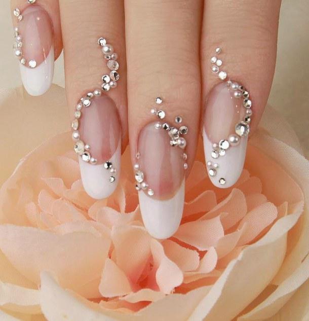 Дизайн ногтей свадебный 2015 новинки