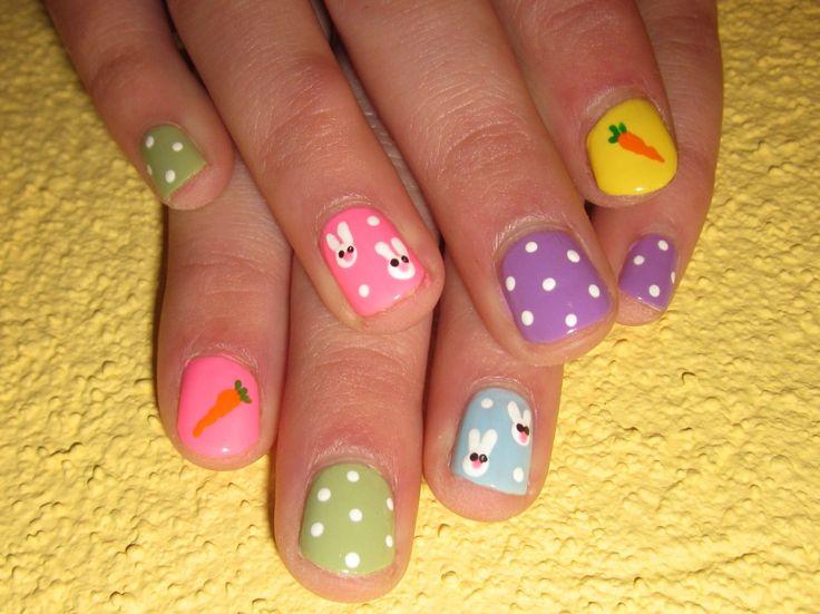 Модный маникюр на детские ногти