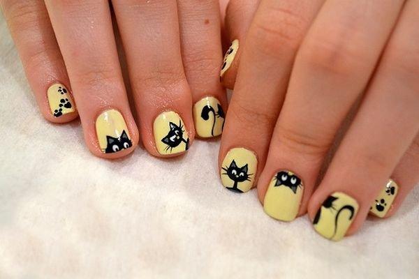 Детский дизайн ногтей короткие ногти