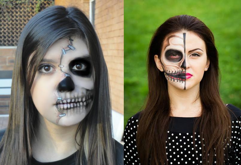 Грим на хэллоуин своими руками фото 76