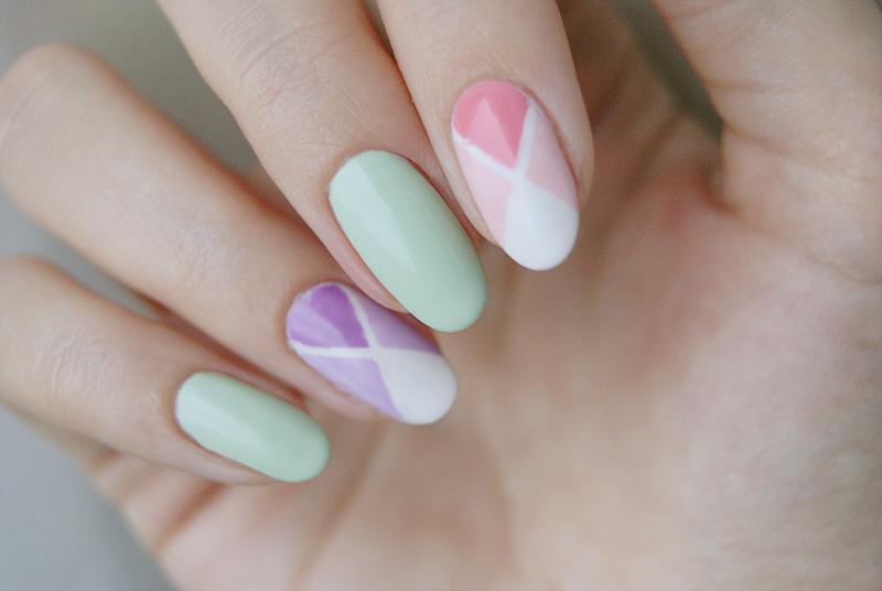 Дизайн ногтей сиреневых и пастельных тонов