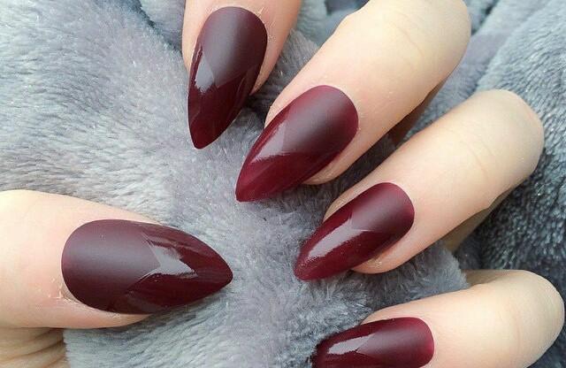 Как называются острые ногти