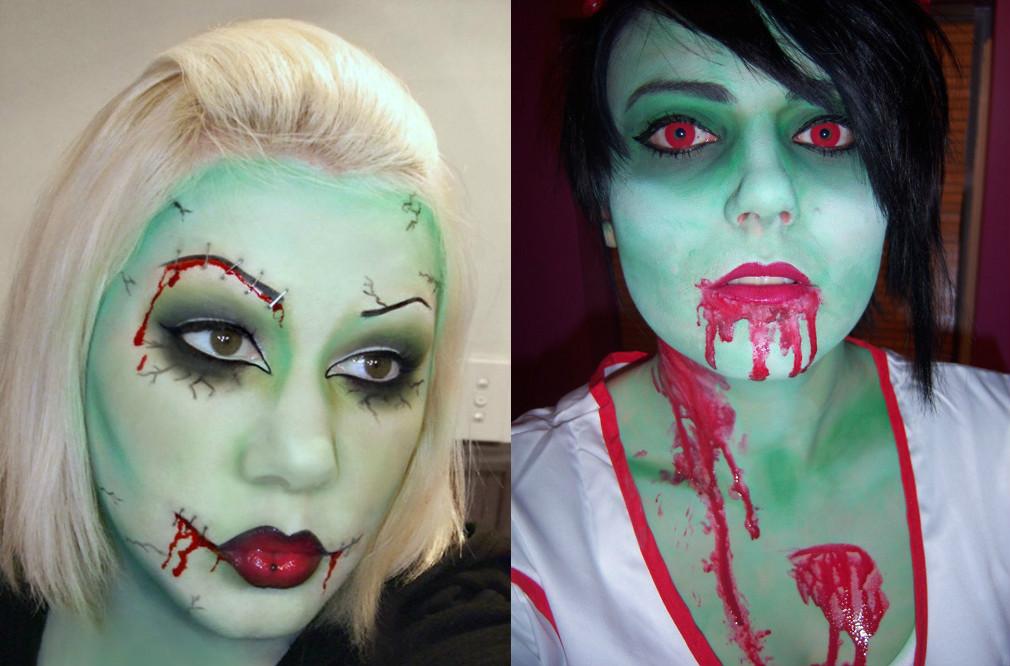 Как сделать из себя зомби на фотошопе