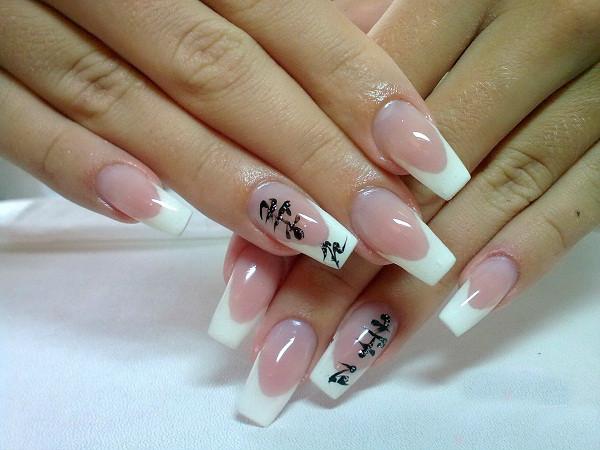 Дизайн ногтей в китайском стиле