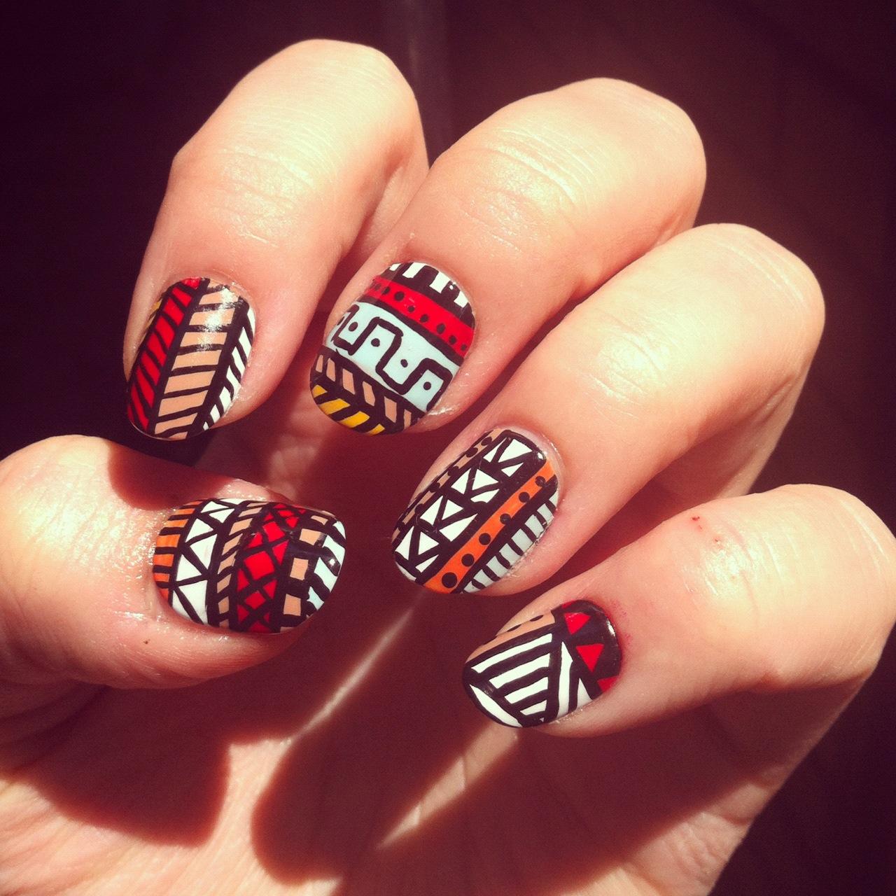 Орнаменты для ногтей
