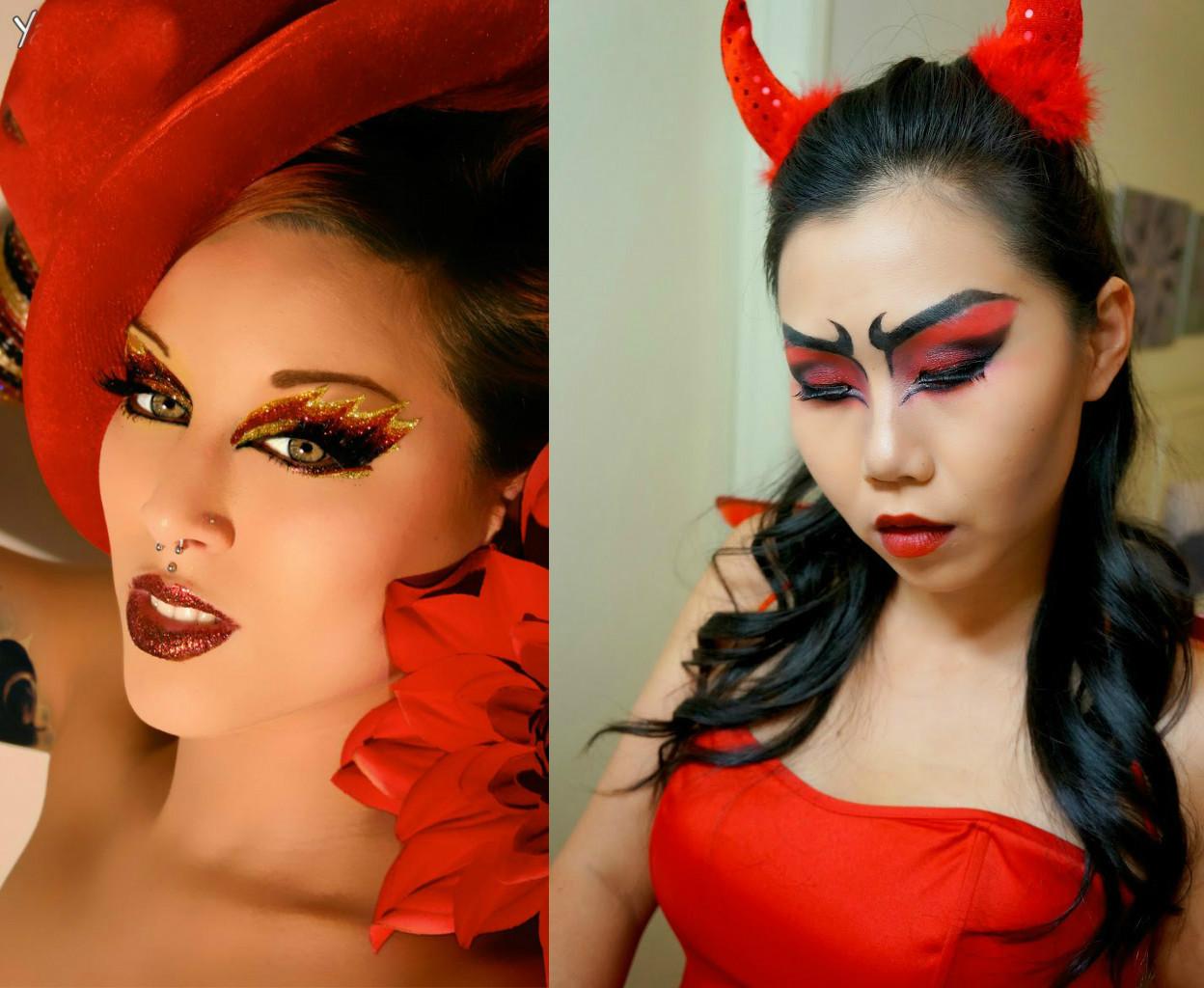 Образы на хэллоуин для девушек фото в домашних