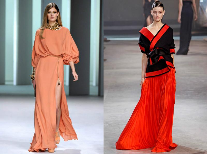 Модно ли длинное платья