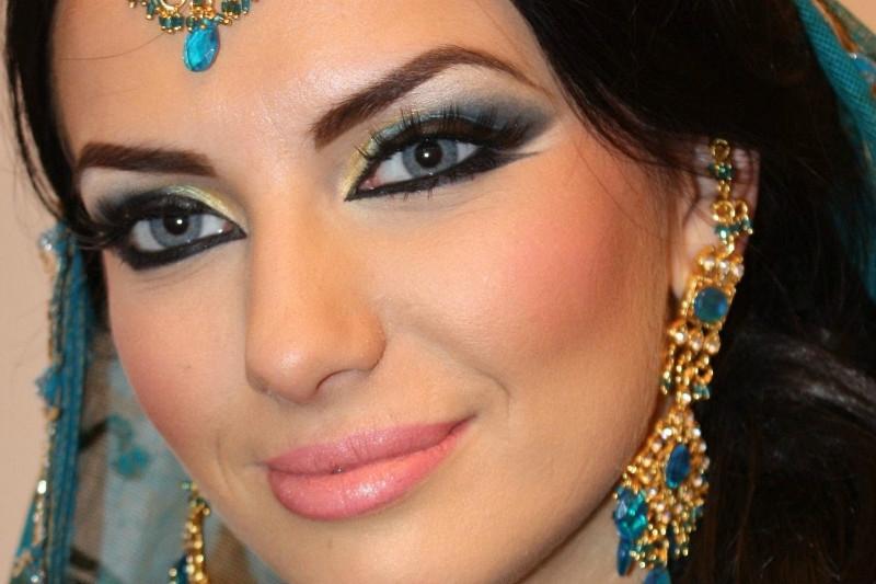 Как сделать восточный макияж