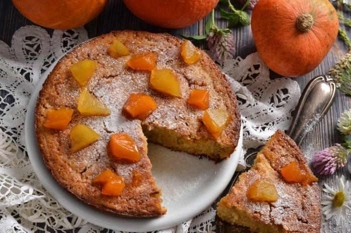 Пирожки с тыквой и яблоками жареные