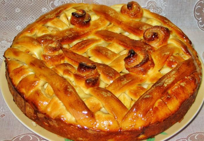 Рецепт яблочного дрожжевого пирога в духовке секреты приготовления — photo 9
