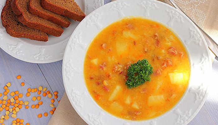 Гороховый суп для спортсменов 2