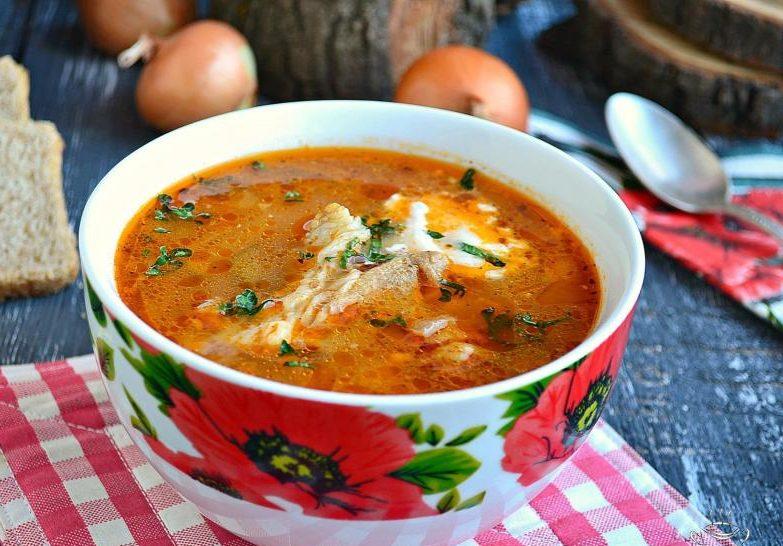 Как приготовить суп с хмели-сунели 4