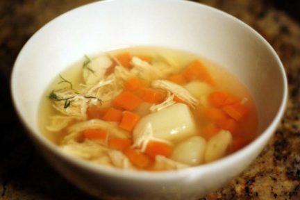 Суп для малышей - рецепт пошаговый с фото