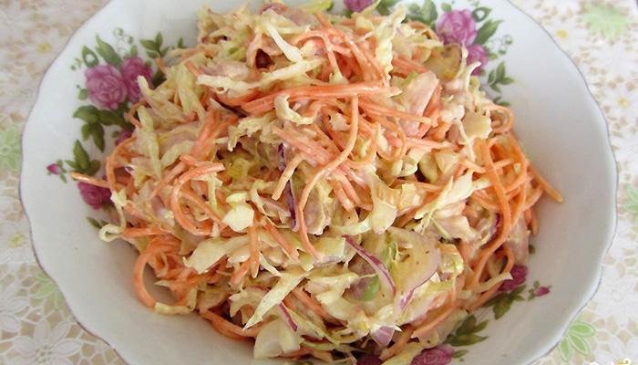 Салаты из кукурузы и болгарского перца и корейской моркови — pic 3