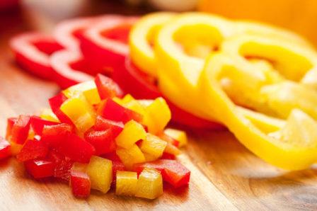 Перец в кисло-сладком соусе - рецепт пошаговый с фото