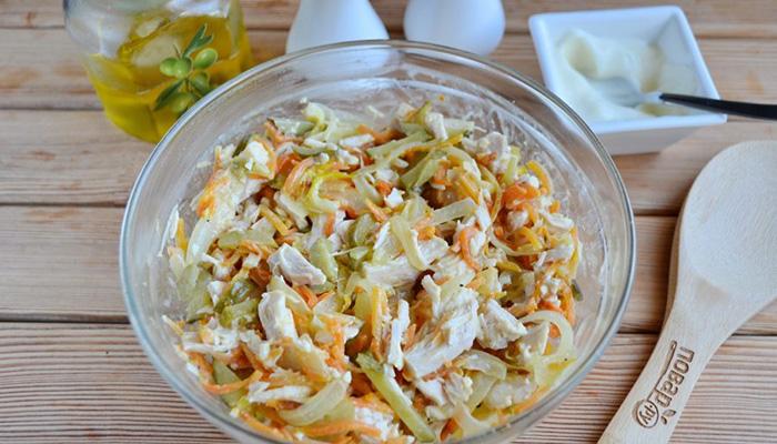 Салат обжорка с говядиной - рецепт с фото и пошаговым приготовлением