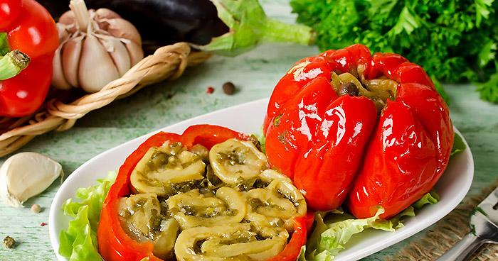 Перец, фаршированный на зиму – 6 рецептов