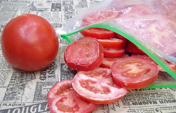 Как заморозить помидоры на зиму – 4 рецепта