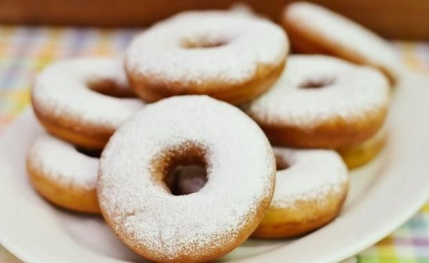 Жаренные творожные пончики - рецепт пошаговый с фото