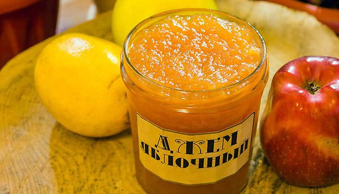 Джем из яблок и брусники - кулинарный рецепт с пошаговыми инструкциями