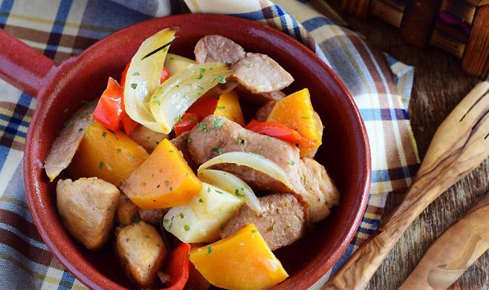 Курица с тыквой в духовке – 9 рецептов