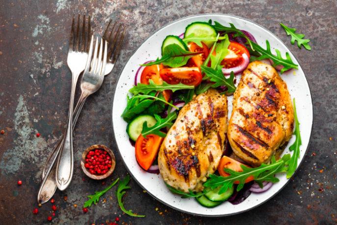 Как приготовить куриное филе на сковороде гриль
