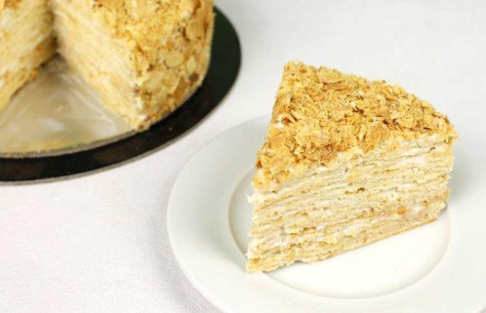 Быстрый торт без выпечки из лаваша и лимонного курда - рецепт пошаговый с фото