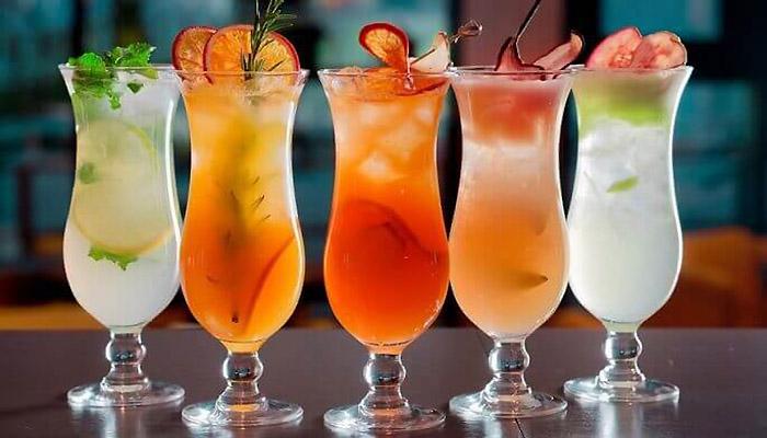 Рецепт безалкогольного коктейля
