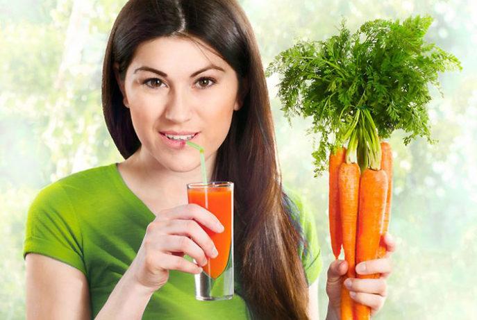 Морковный сок с молоком польза и вред