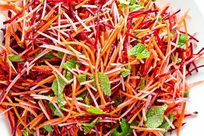 Свекла и морковь для похудения