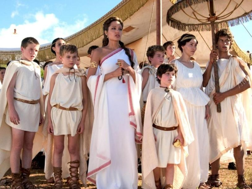 Вечеринка в стиле древнегреческих богов
