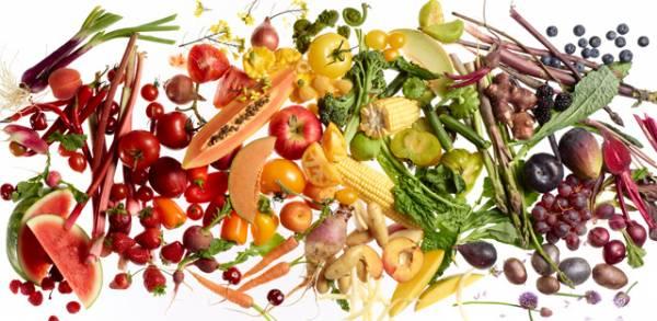 Цветная диета – худеем правильно