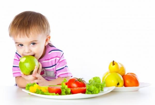 Рацион двухлетнего ребенка