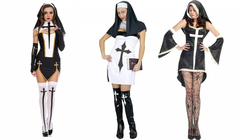 Секс образ монашки
